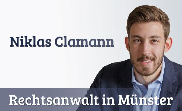 Niklas Clamann - Scheidungsanwalt - Münster